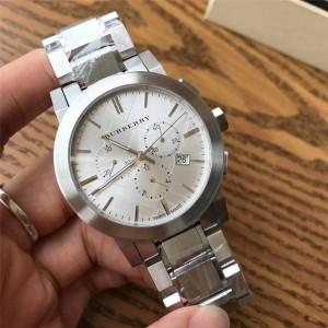 BURBERRY巴宝莉博柏利中国官网时尚新款男表男士手表钢带石英腕表BU9350