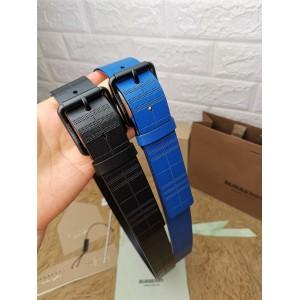 Burberry巴宝莉官网博柏利男士皮带代购正品3.5cm宽度腰带