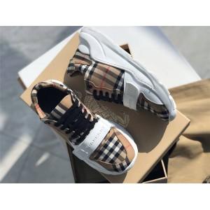 Burberry/巴宝莉中国官网博柏利Vintage格纹运动鞋老爹鞋80202821