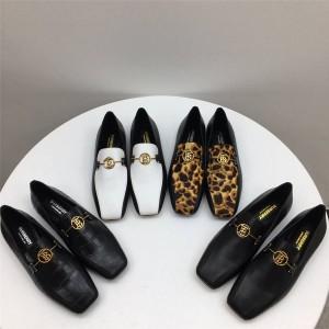 Burberry巴宝莉中文官网原单乐福鞋女士Almerton皮质便鞋80155691