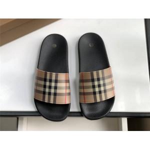 Burberry博柏利巴宝莉官方网站Vintage 格纹拖鞋80239651/80242321
