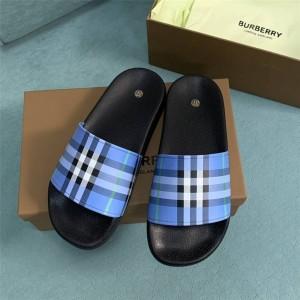 Burberry博柏利巴宝莉香港官网格纹印花拖鞋80395511/80398981