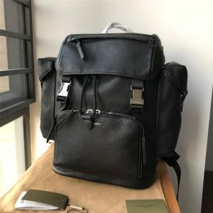Burberry巴宝莉的官网博柏利香港代购网男士双肩包新款真皮全皮背包书包