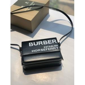 Burberry/巴宝莉官网博柏利Grace小号Horseferry印花涂层帆布格雷丝包80260961