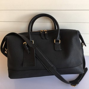 Burberry中文官网巴宝莉博柏利男士包包经典新款真皮旅行袋行李包