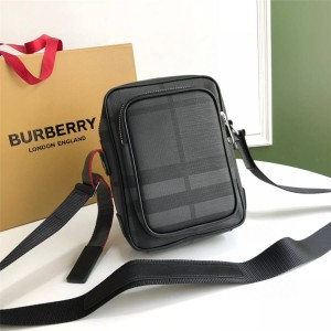 BURBERRY香港官网巴宝莉新款包包博柏利London格纹斜挎包80139501