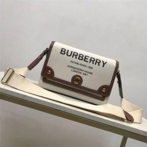 Burberry博柏利巴宝莉中国官网Horseferry印花帆布Note斜背包80302491