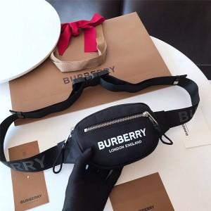 Burberry/巴宝莉官网小号徽标印花ECONYL® Cannon腰包80210911