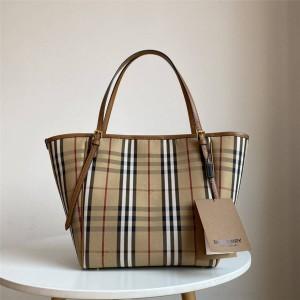 Burberry博柏利巴宝莉香港官网中古隐形战马购物袋变形托特包