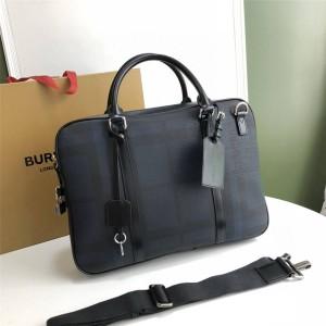 Burberry巴宝莉官方网站代购经典烟熏格纹手提单肩公文包39234060