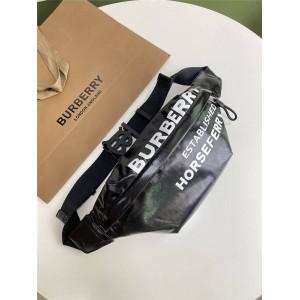 Burberry正品代购巴宝莉英国官网Horseferry印花胸包腰包80201761