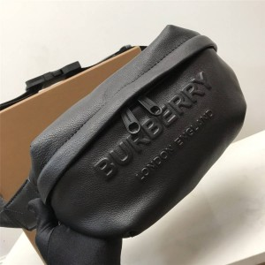 Burberry官网巴宝莉经典款包包徽标压花牛皮苏尼腰包80389541